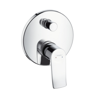Metris Single lever bath mixer for concealed installation, Hansgorhe 31487000