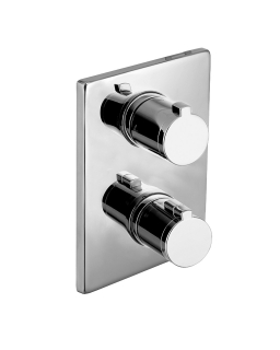 Смеситель для ванны CENTRUM, термостат, врезной, 3 выхода, Imprese VRB-10400Z