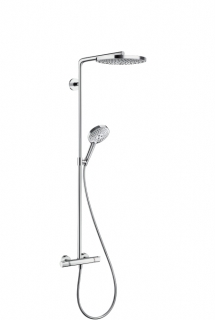 Душевая система Raindance Select S 240 2jet Showerpipe, Hansgrohe 27129000
