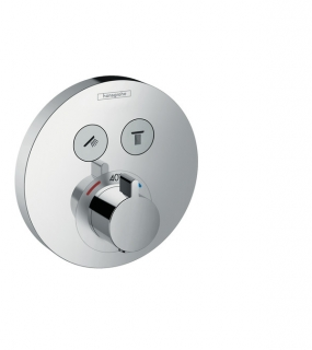 Shower Select S Термостат для душа врезной на 2 потребителя, Hansgrohe 15743000