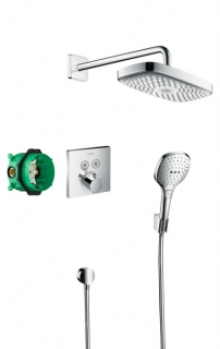 Душевой набор Raindance Select E, HANSGROHE 27296000